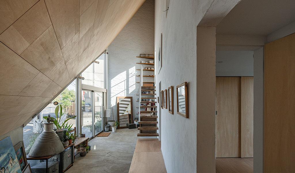 parete espositiva atelier casa