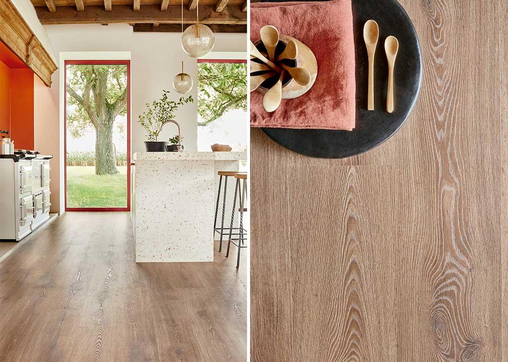 pavimento laminato legno rovere