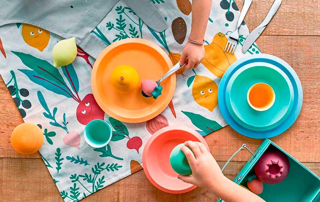 piatti bambini colorati