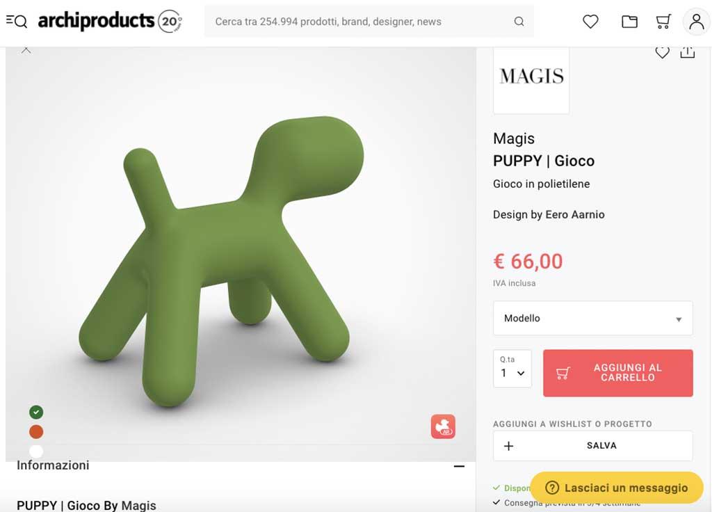 puppy magis