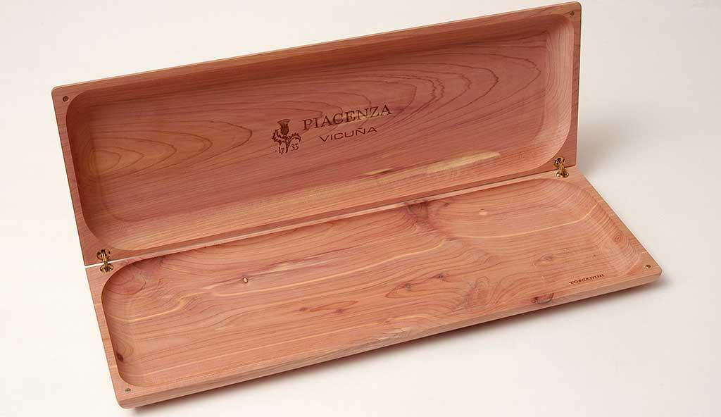 scatola legno cedro rosso