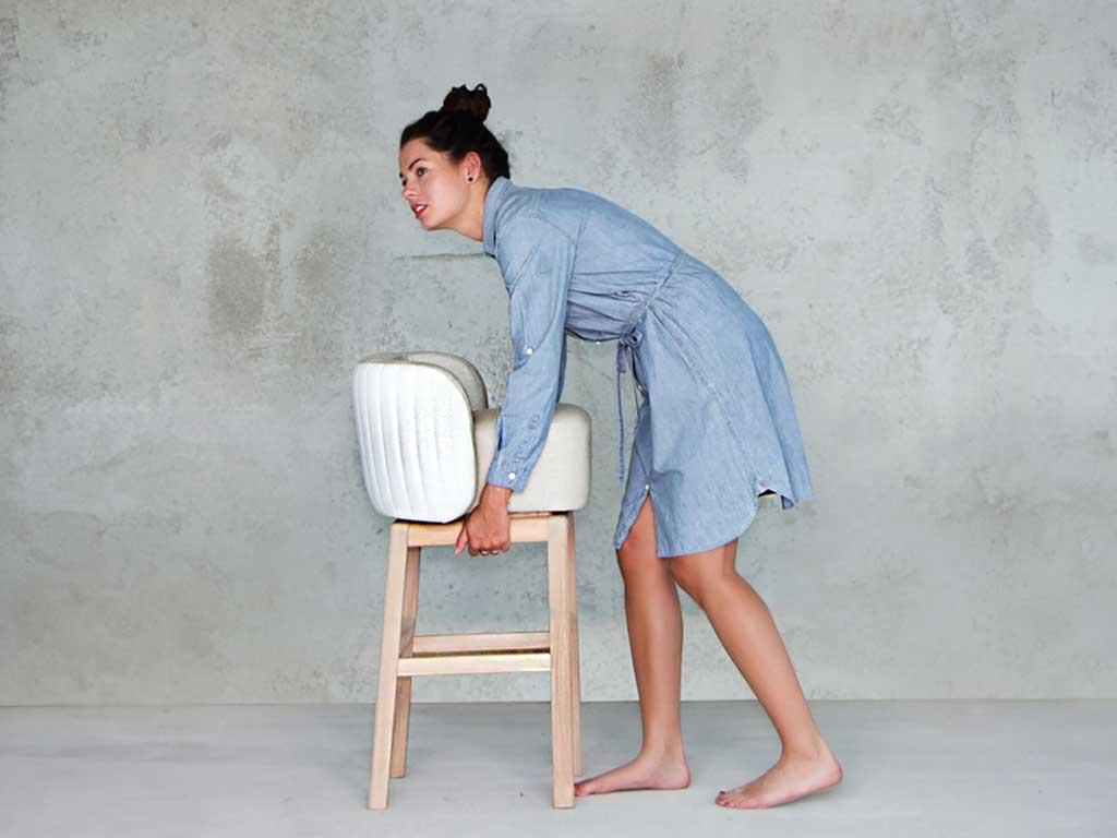 sedia bar imbottita design