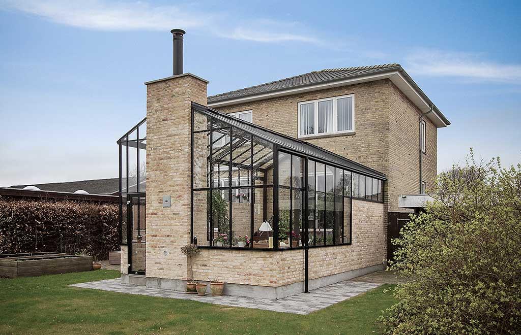 serra bioclimatica finestre alte