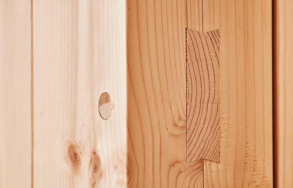 brevetto incastro legno costruzione