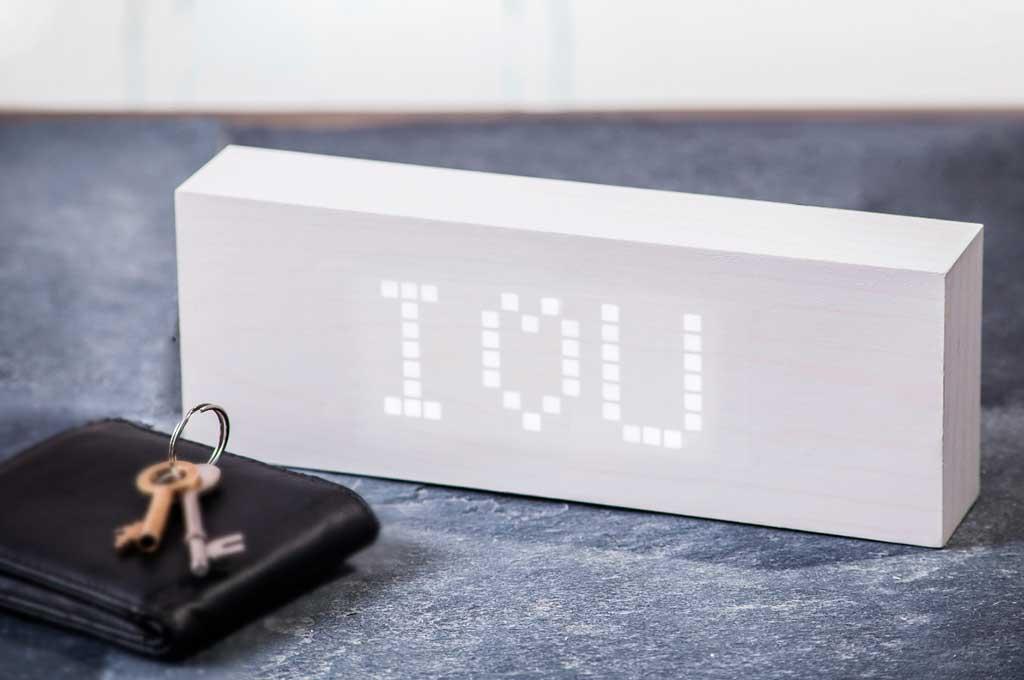 sveglia display messaggio