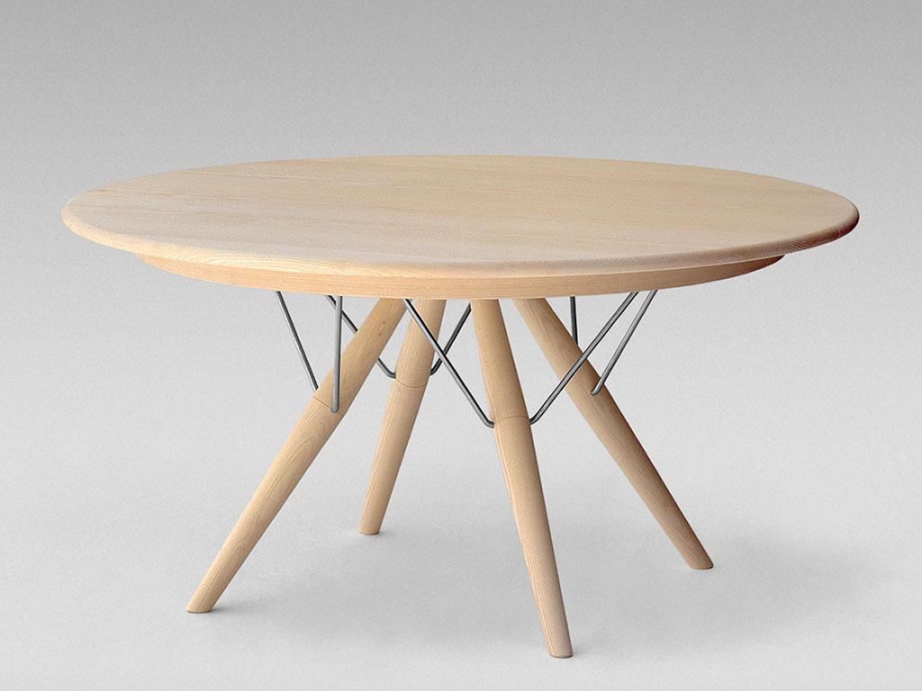 tavolo legno tondo design