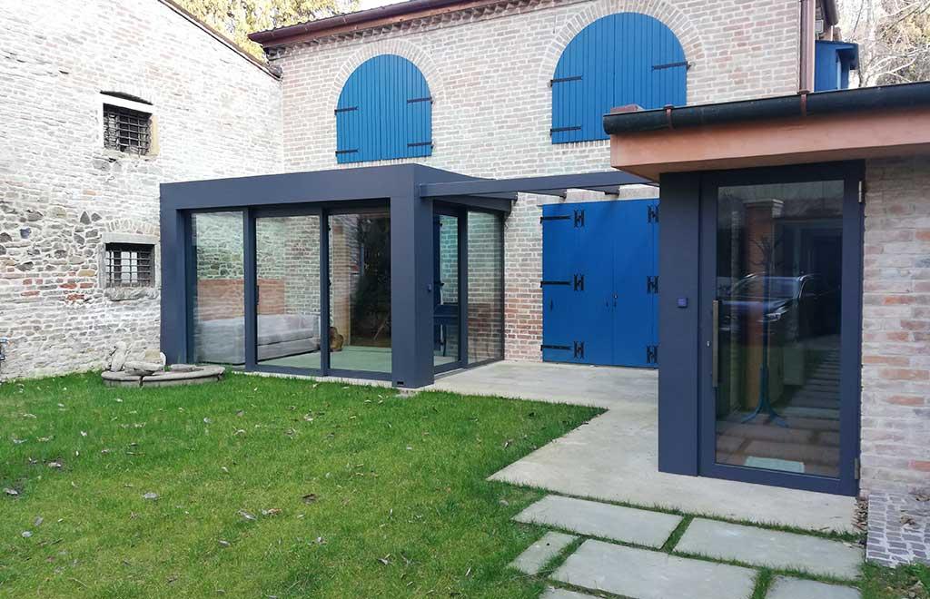 veranda casa muratura