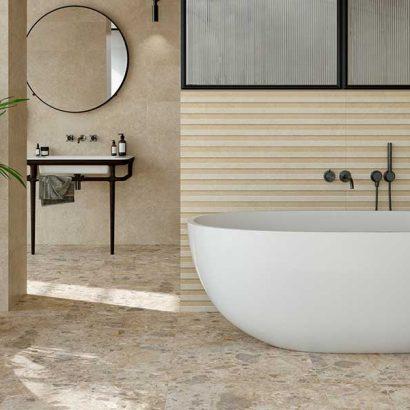 bagno in pietra vicentina