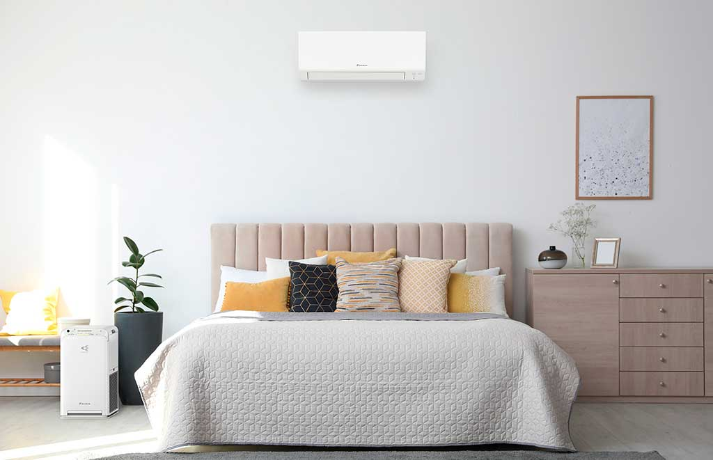 climatizzatore camera da letto
