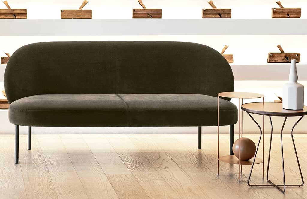 divano due posti tessuto
