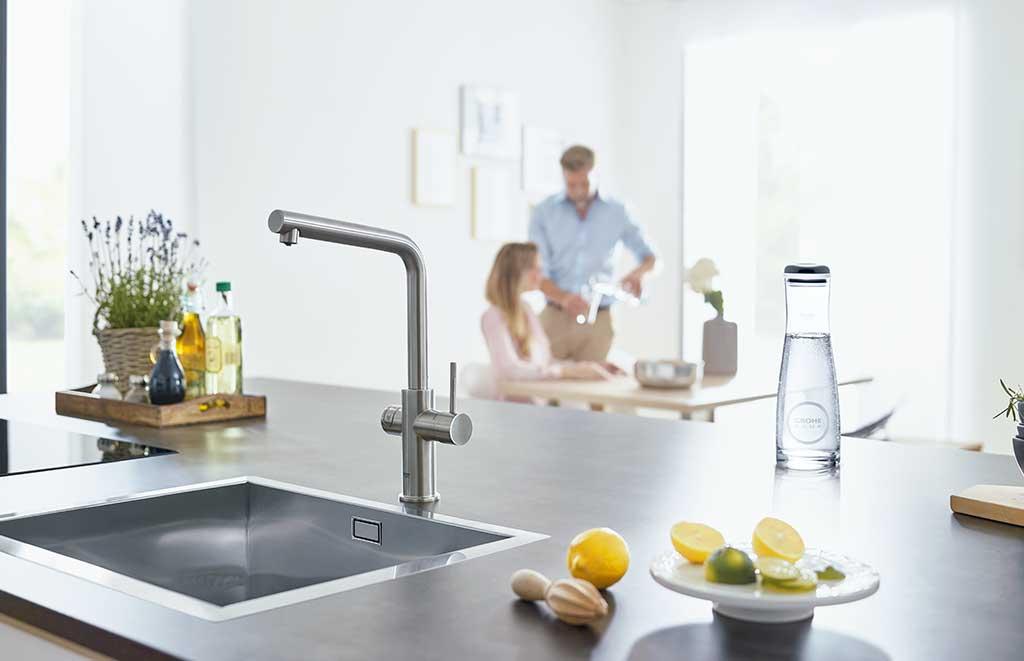 filtrazione domestica acqua rubinetto