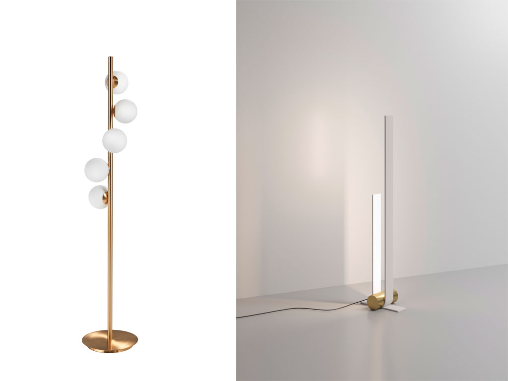 lampada twist e lampada nastro