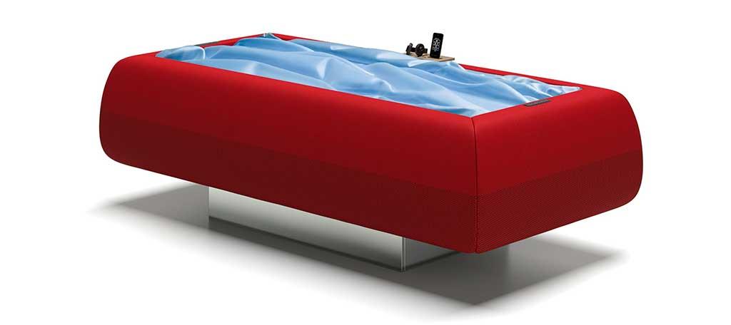 lettino rilassante galleggiamento