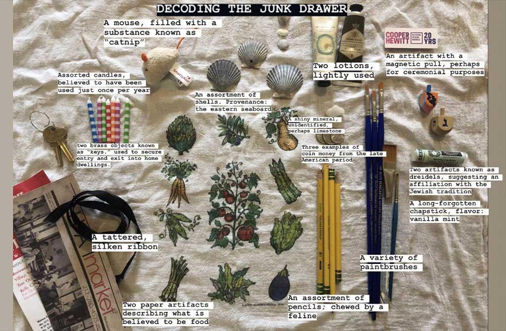 oggetti cassetto cianfrusaglie