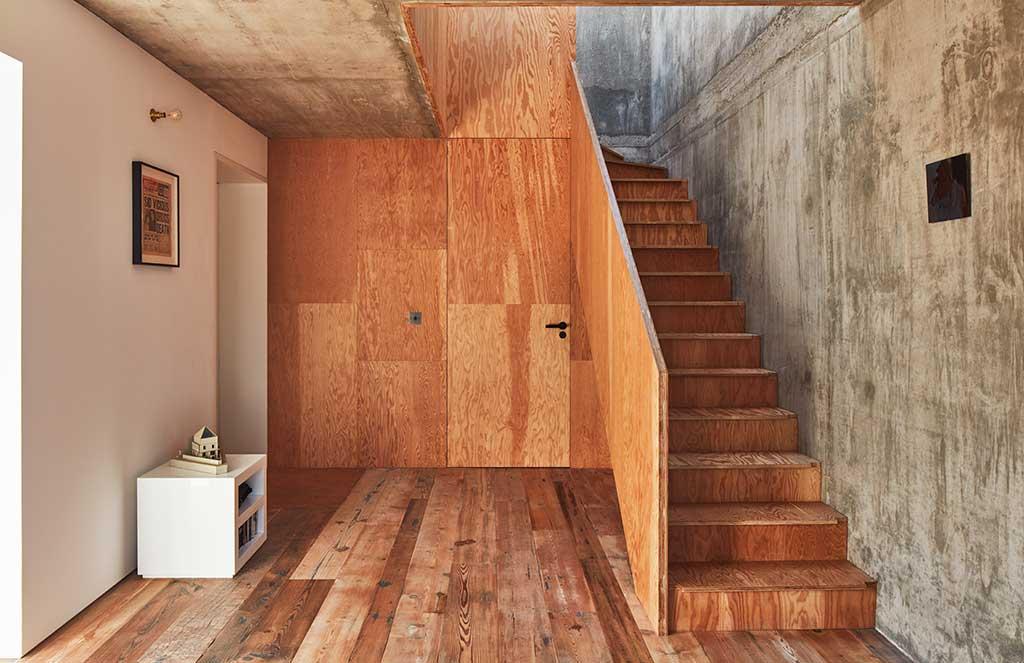 scala legno casa hackney