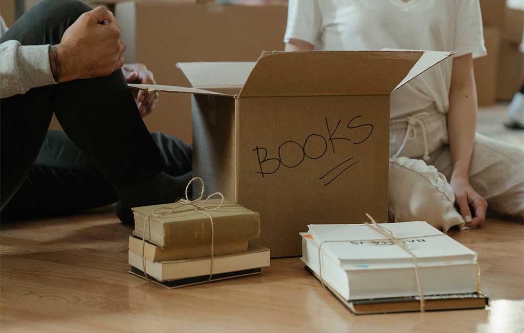 scatolone libri