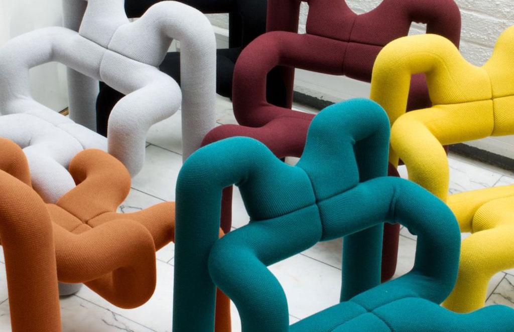 sedia exstrem colorata