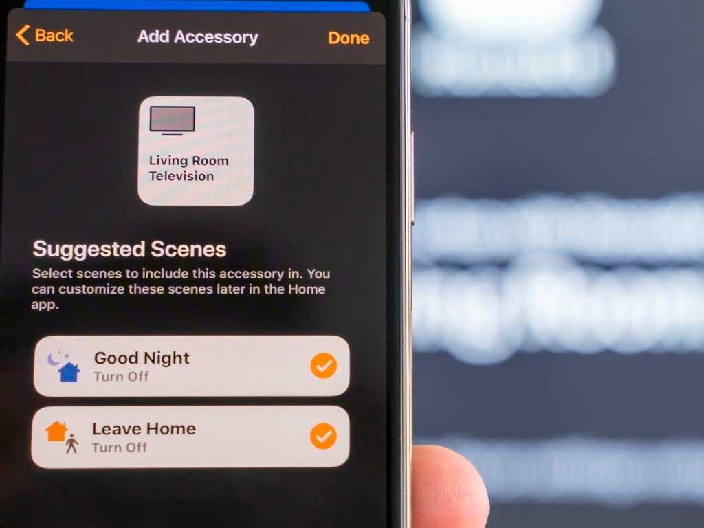 smartphone scenario domotica