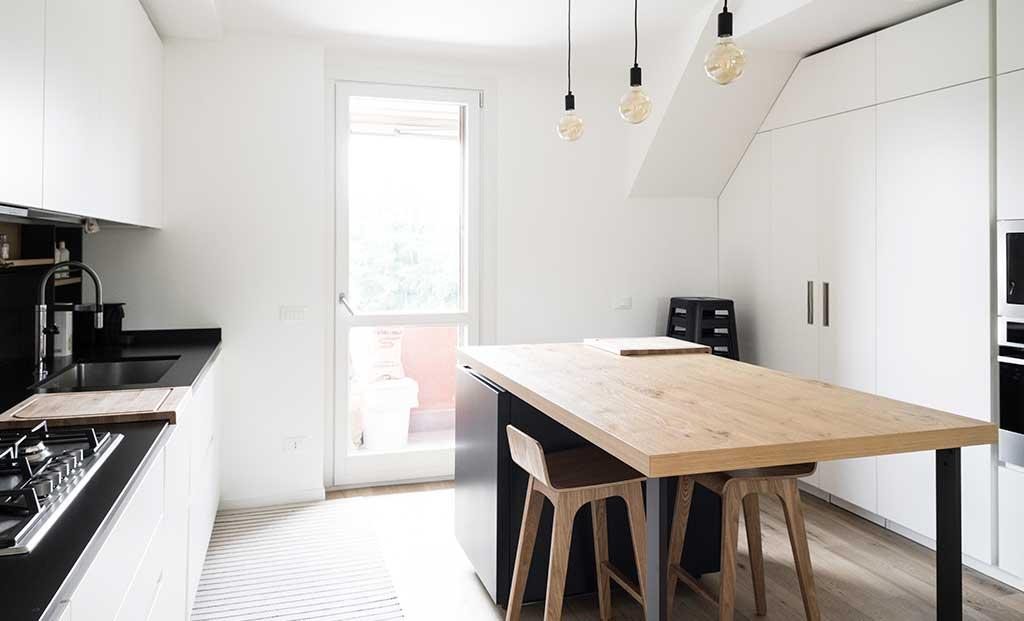 tavolo isola cucina legno
