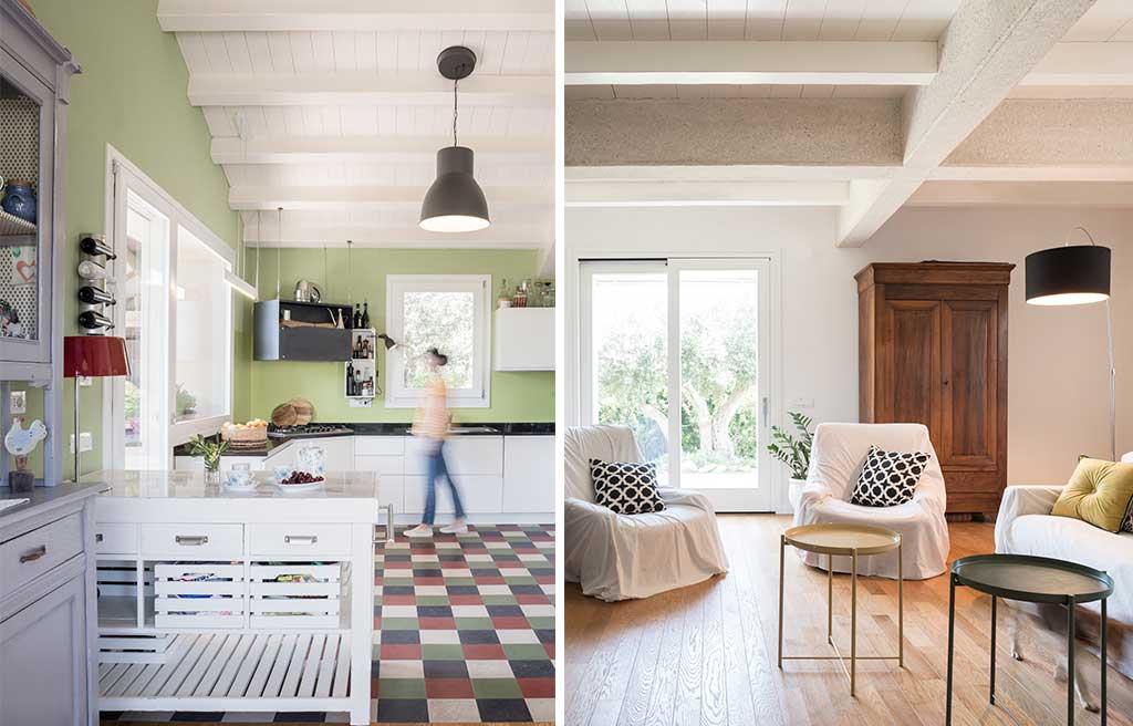 interno cucina e living