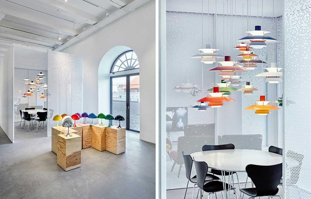 lampade tavolo e sospensione colori