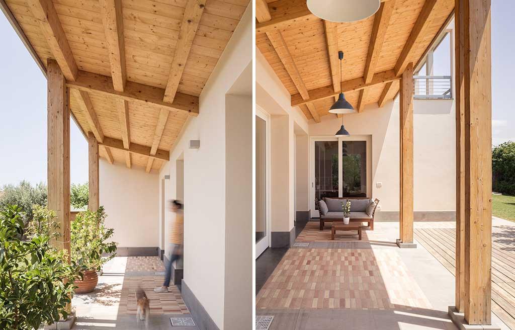 loggiati casa legno
