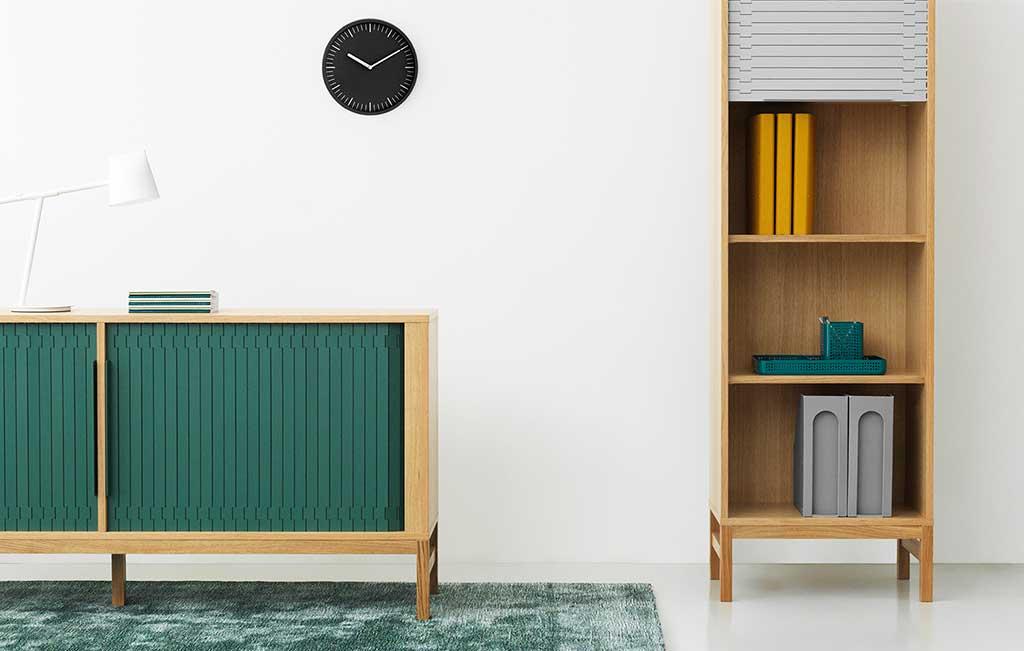 madia legno e verde