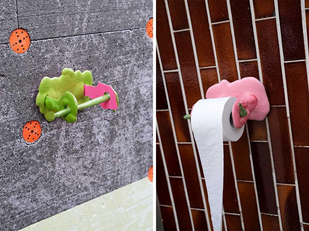 porta rotoli carta igienica colorati bagno
