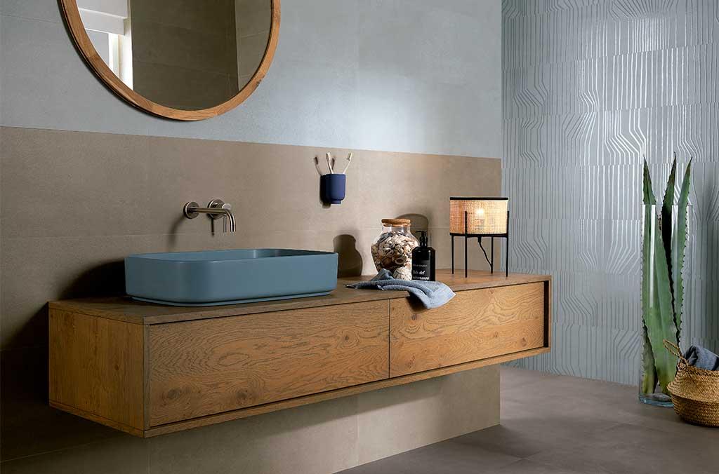 rivestimento bagno piastrelle senza fughe