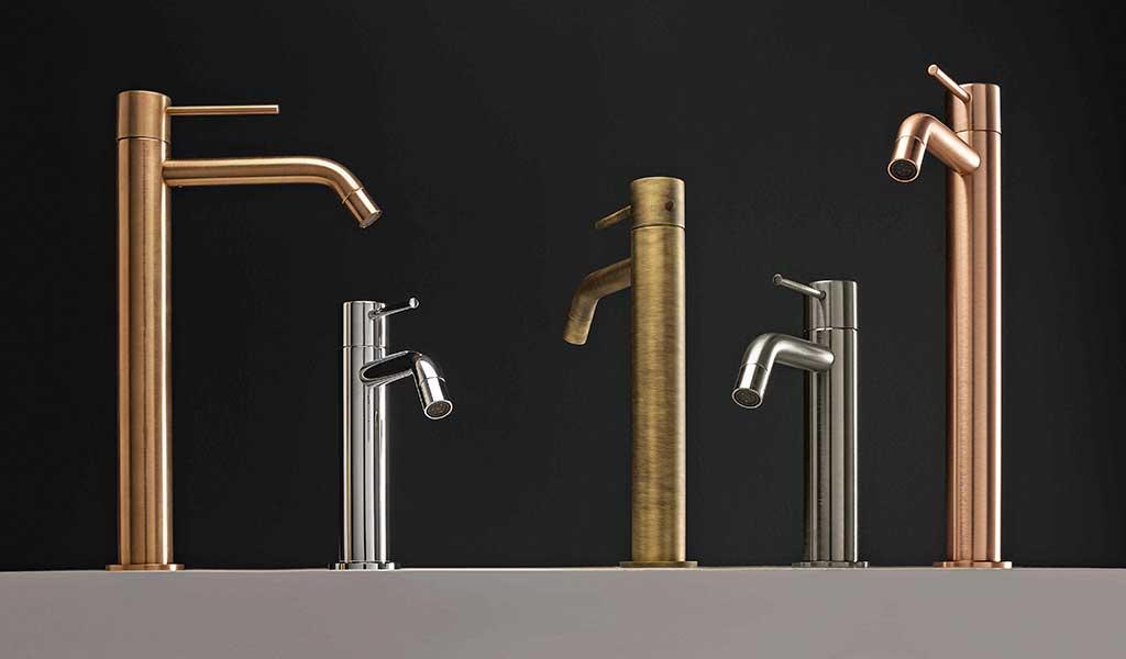 rubinetti bagno varie finiture