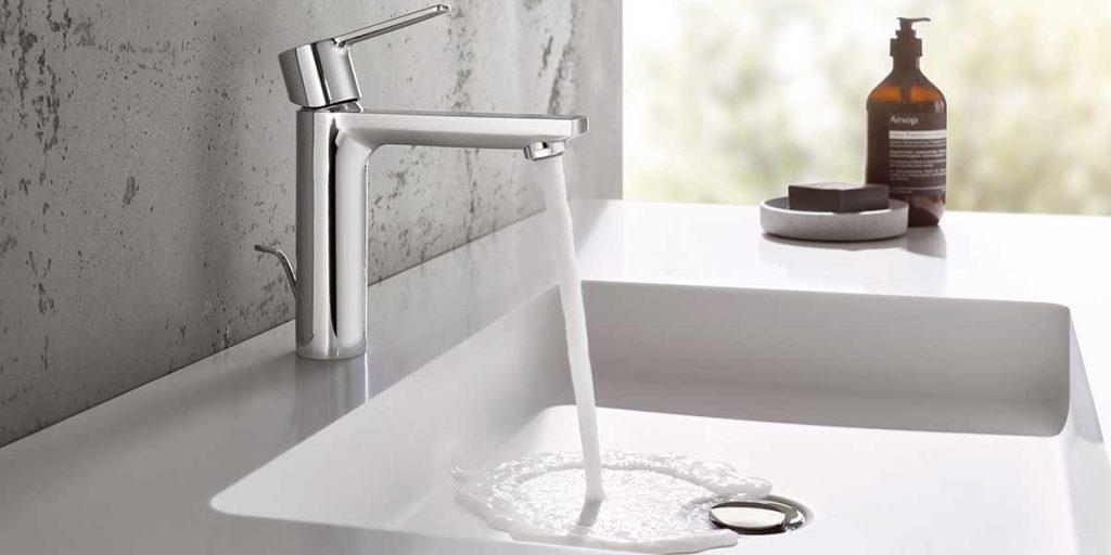 rubinetto miscelatore bagno cromo