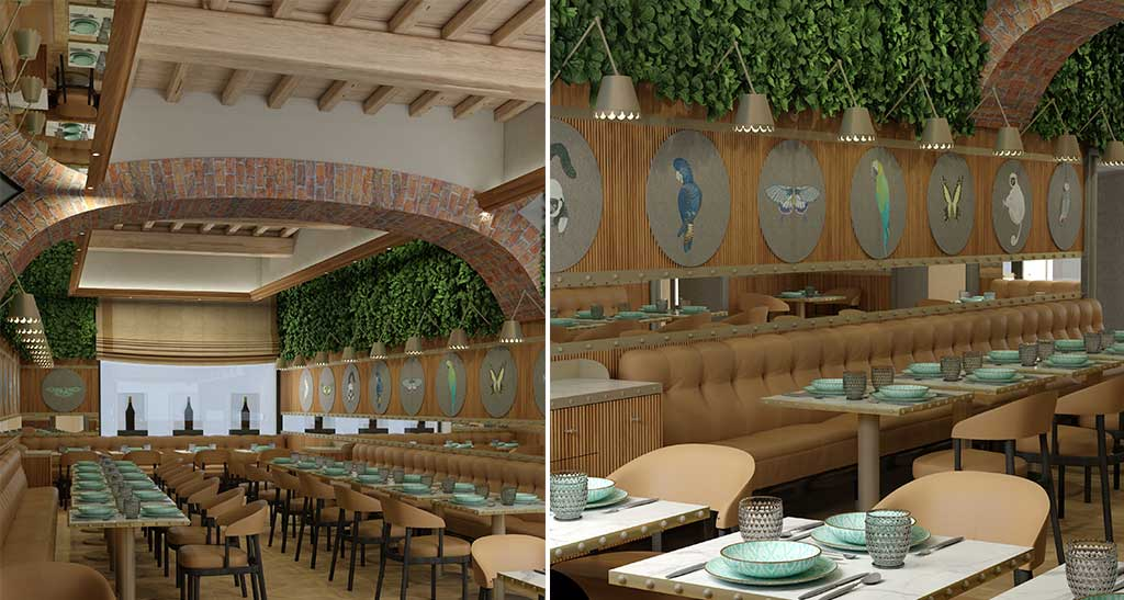 sala ristorante hotel tornabuoni