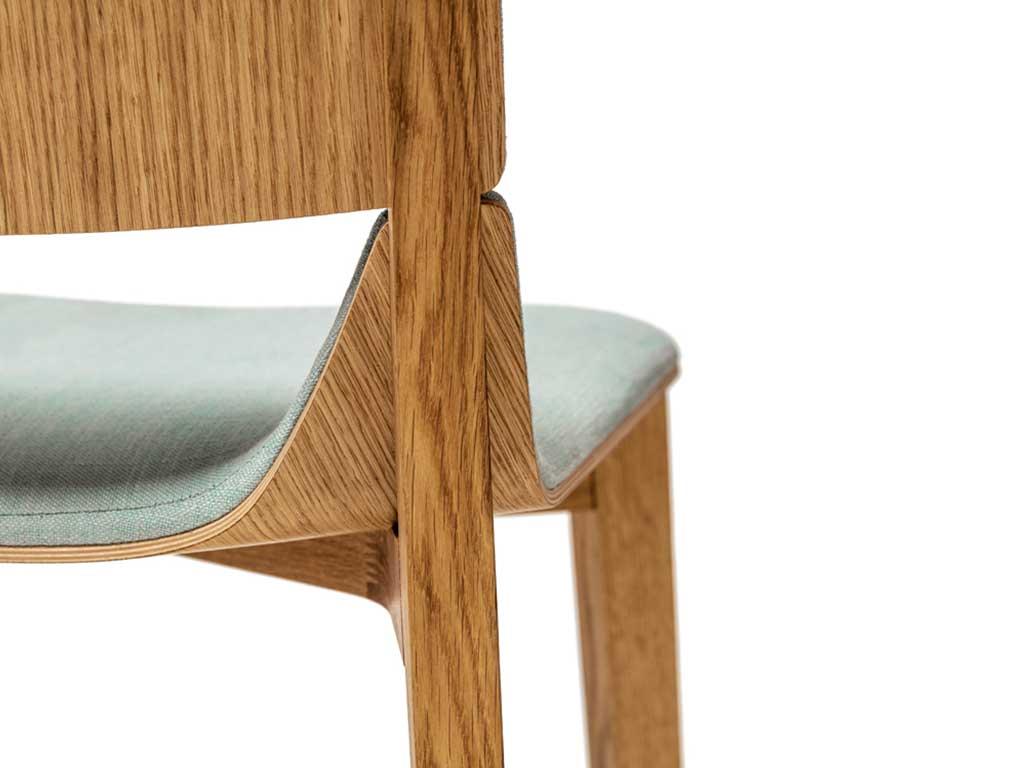 sedia legno curvato