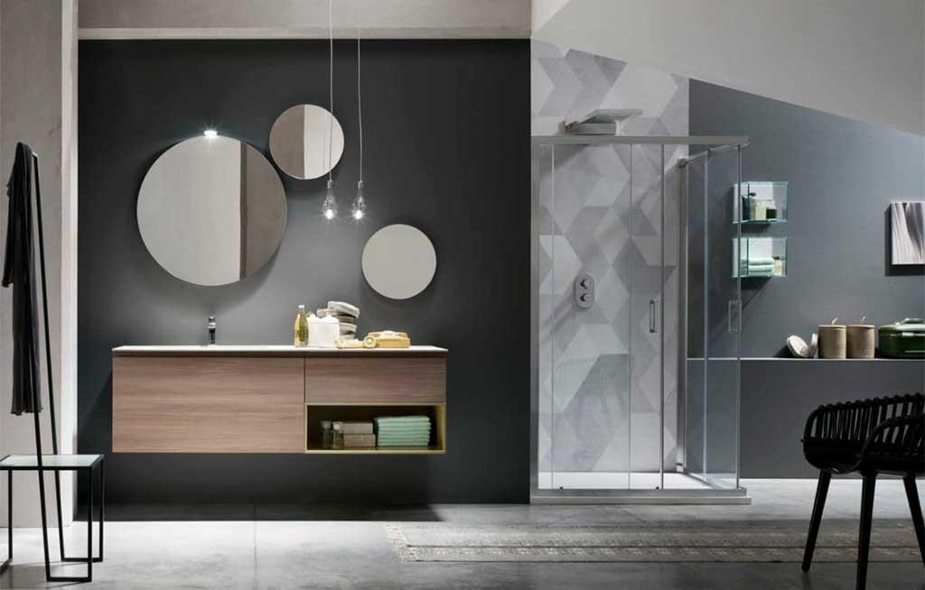 specchi bagno tondi varie grandezze