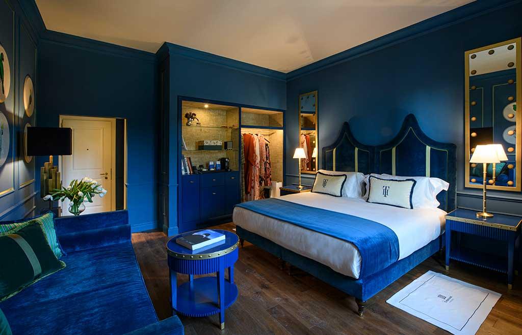 stanza tornabuoni blu