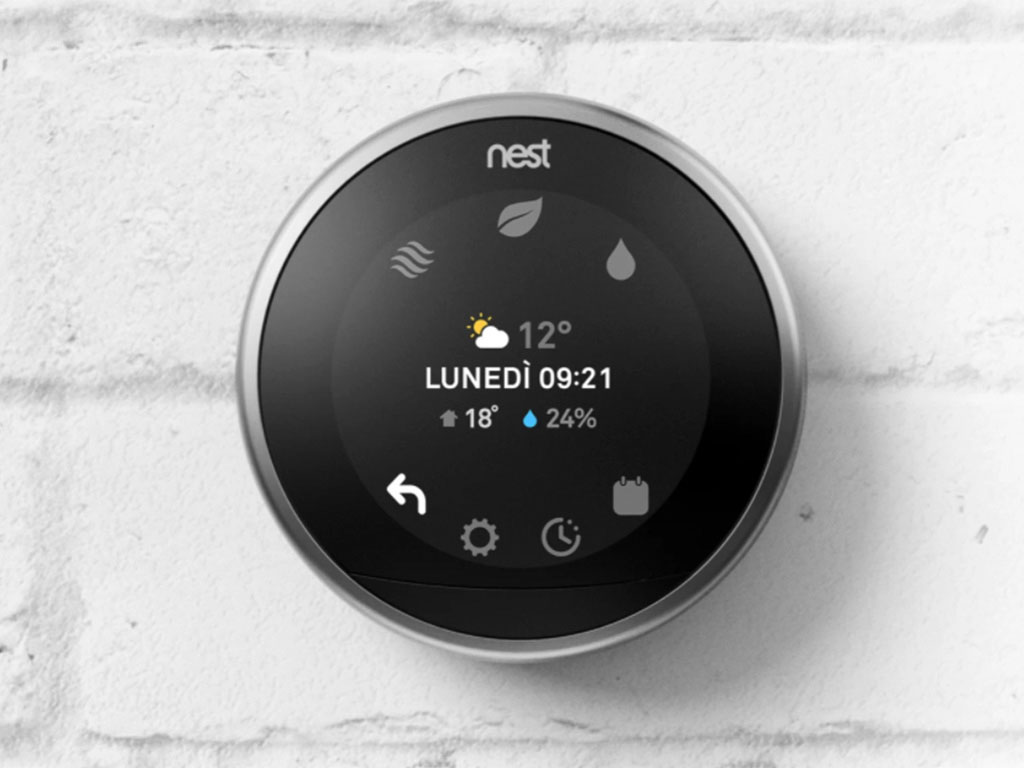 termostato nest smart