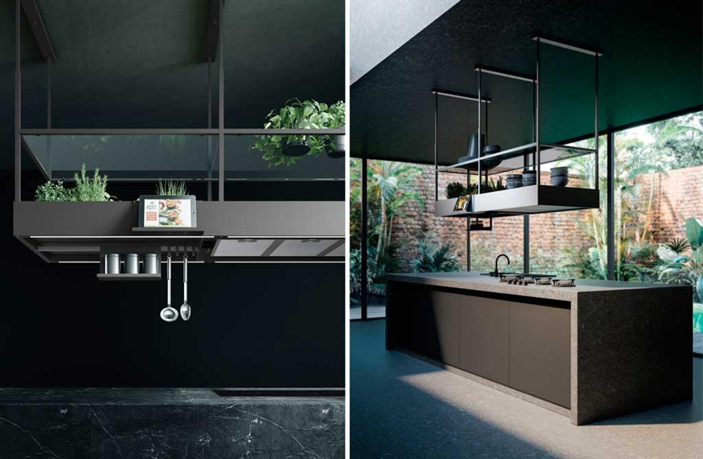 cappa design cucina isola