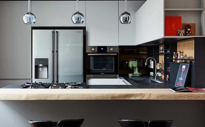 cucina di design penisola