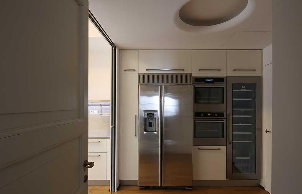 cucina parete elettrodomestici