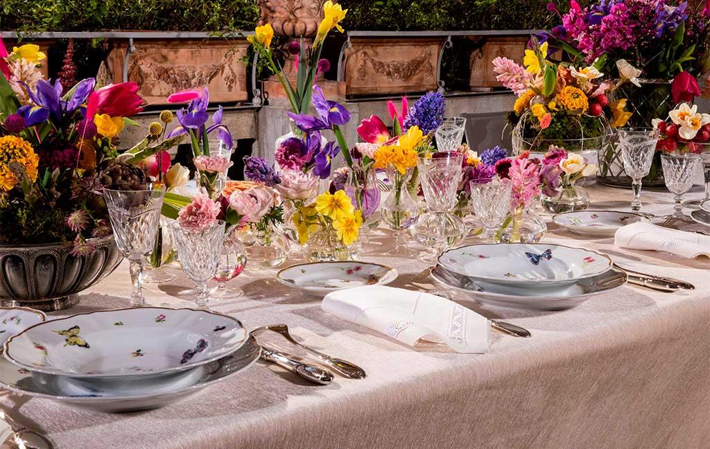 fiori tavola pasqua