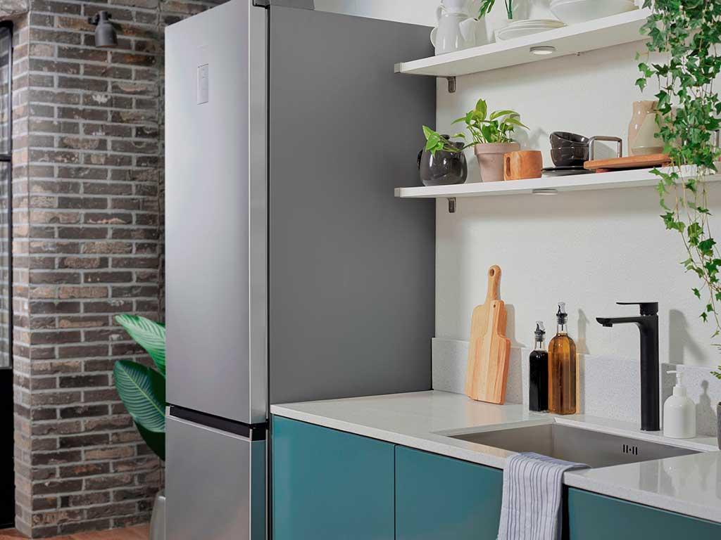 frigorifero libera installazione antracite satinato