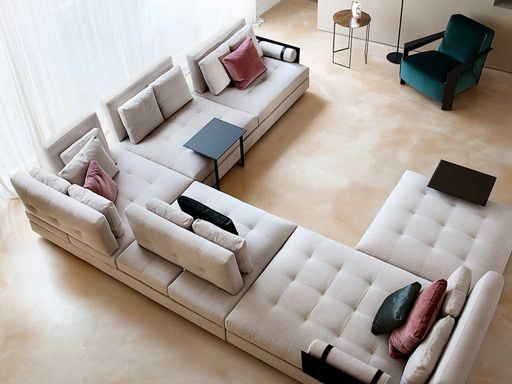 divano grande a u