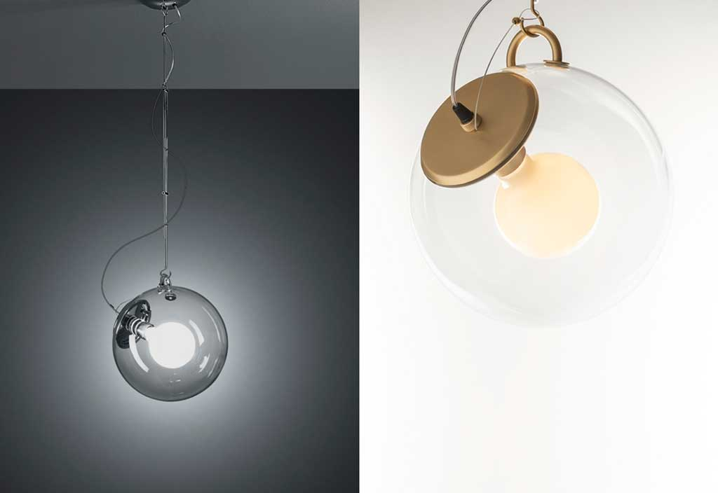 lampada bolla vetro