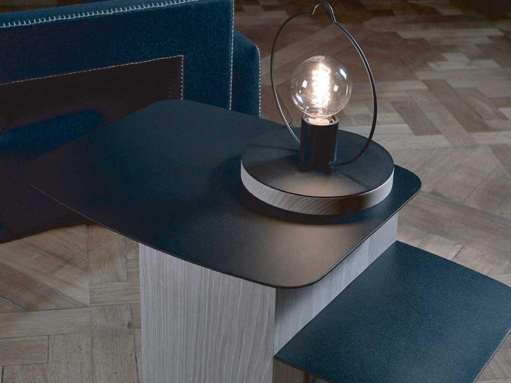 lampada tavolo stile lanterna design