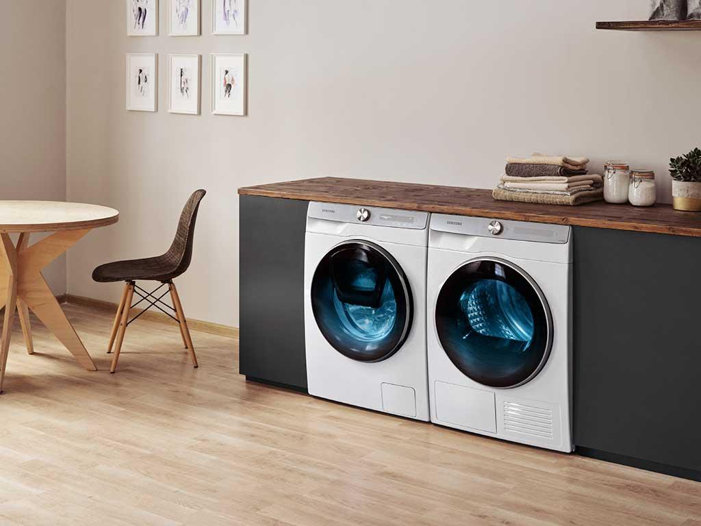 lavatrice e asciugatrice samsung
