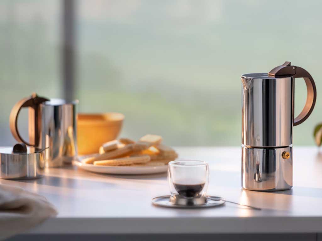 macchinetta caffe design moka