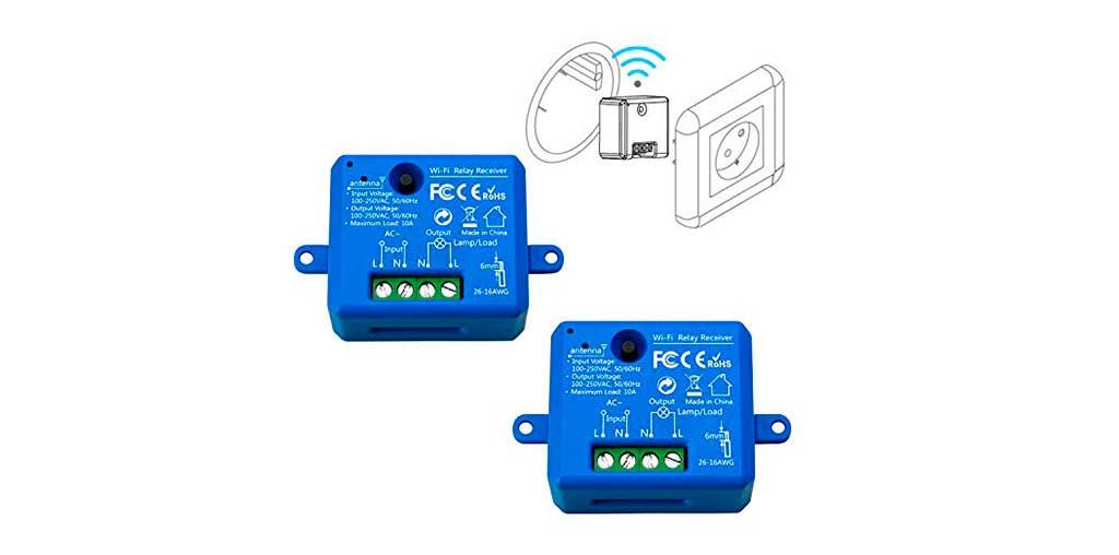 rele wireless per presa elettrica