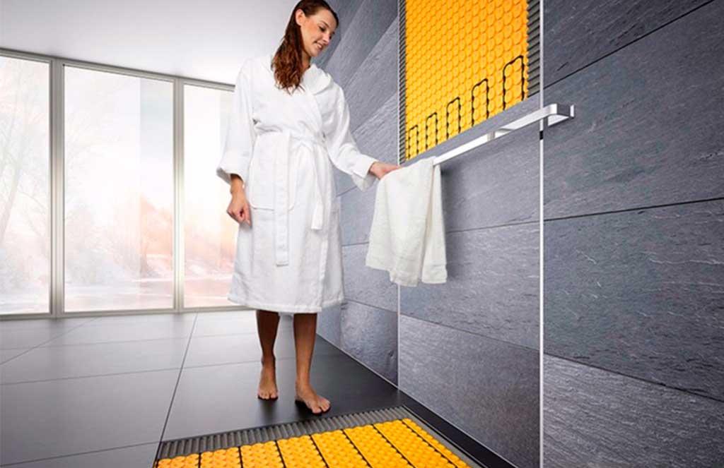 riscaldamento pavimento e parete