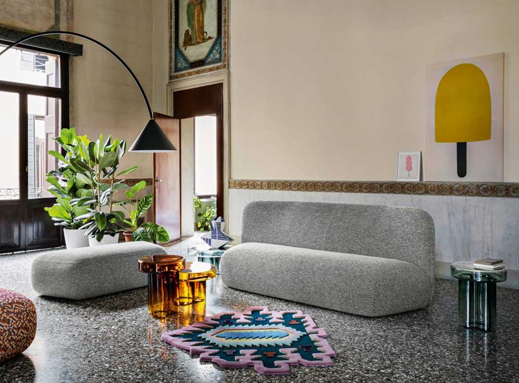 sofa botera grigio chiaro