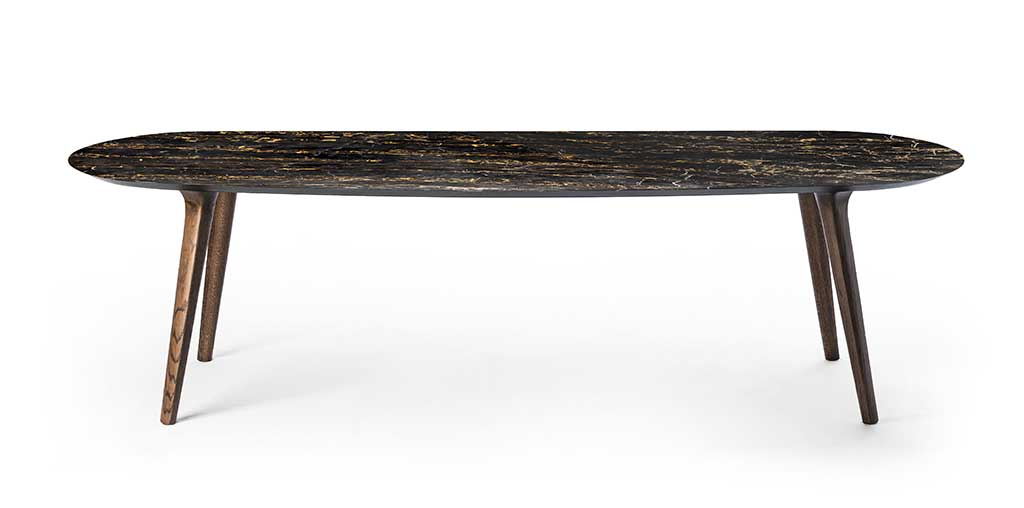 tavolo ellissoidale